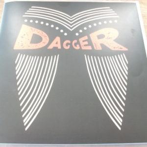 """Dagger - Love Is Killing Me/Gone Wild [7"""" LP] (Zim rock)"""