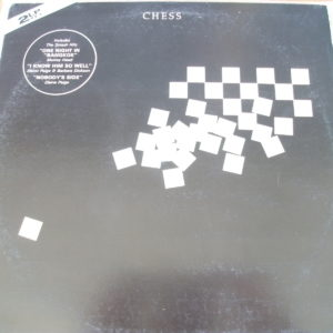 Chess - Benny Andersson, Tim Rice, Björn Ulvaeus [2LP] (1984]