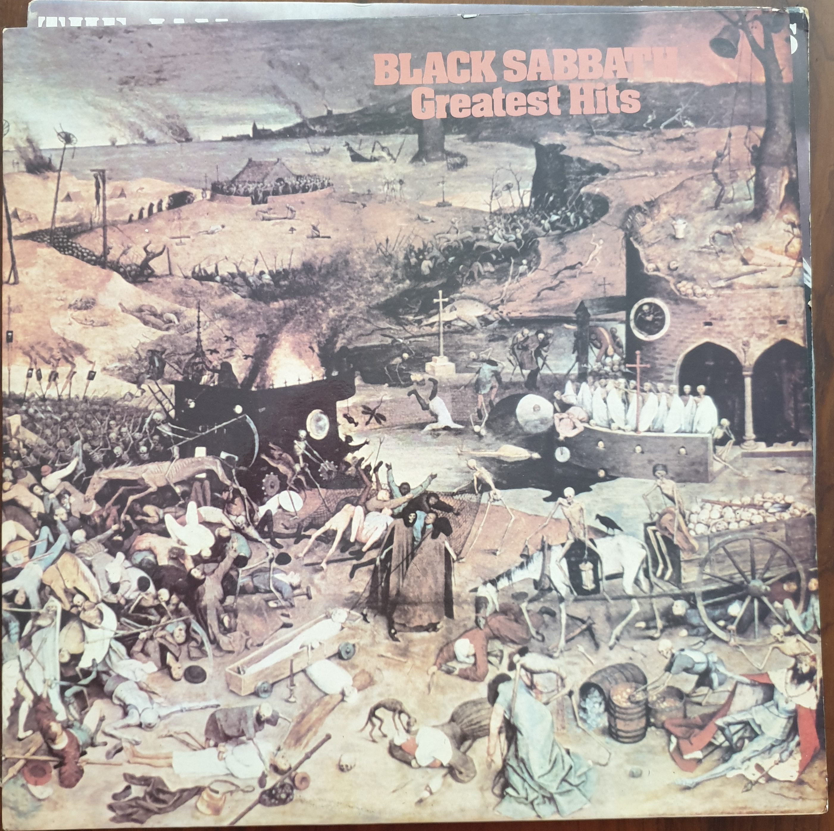 Black Sabbath Greatest Hits Record Mad